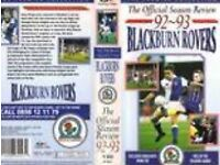 RARE Official VHS Blackburn Rovers 1992/93 Season Review