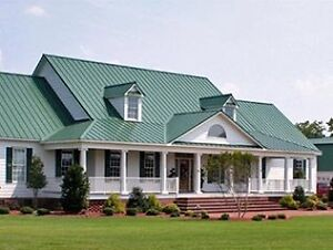 METAL ROOFING AND SIDING.  GALVALUME: 1.99 PER LIN. FT.