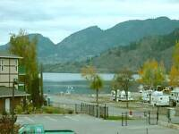 March-June 2 Bdrm Furnished Condo on Skaha Lake near Penticton