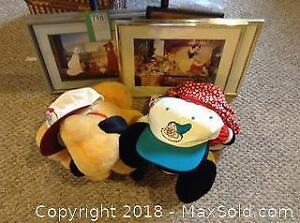 Disney Toys And Prints - A