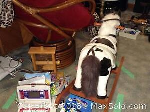 Toys and Riding Rocking Horse A