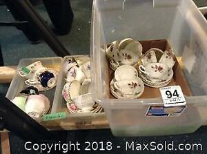 21 Cup and Saucer Sets A