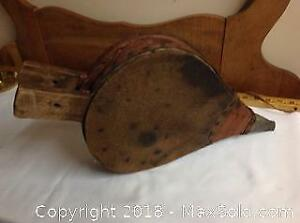 Antique Wood/leather Bellows