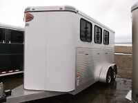 GET READY FOR SPRING SALE ON BUMPER PULL HORSE TRAILERS!