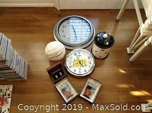 Movie Memorabilia Clocks and More A