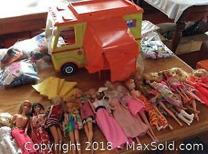 Barbie Doll Collection, and A Mattel Barbie RV