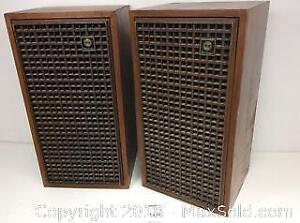 Vintage Box Speakers