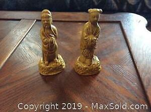 Two Small Vintage Chinese Figures