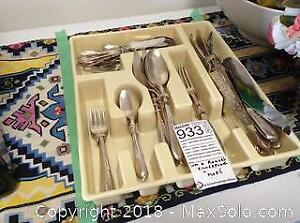 Silver Plate Cutlery A
