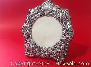 STERLING silver picture frame.