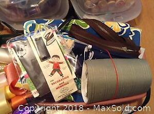 Sewing Thread And More Lot