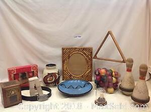 Vintage And Housewares Lot