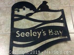 Seeleys Bay Metal Sign