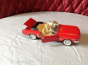 Ford Mustang 1964,s Red Convertible SS7711 Car C