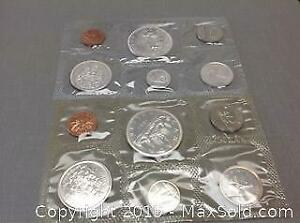 1963 and 1965 Silver Canada Mint Sets. A