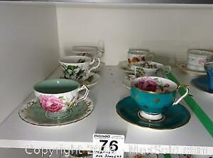 Bone China Teacups A