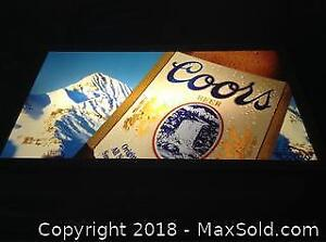 Coors Light Bar Sign