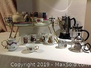Tray, Coffee Makers, Teapots. A