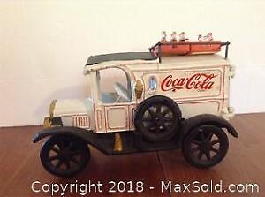 Cast Iron Coca Cola Delivery Truck
