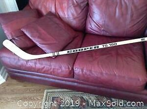 Signed Cooper TS 190 Hockey Stick A