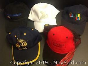 5 Baseball Caps New Without Tags