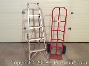 Hand Cart And Ladder