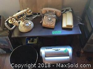 Vintage Phones, Shredder And More- A