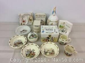 Beatrix Potter and Bunnykins Collectibles