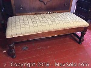 Antique Seating Bench