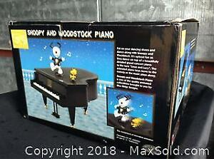 Snoopy and Woodstock Piano 50th Anniversary