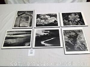 Six Ansel Adams Photographic Images