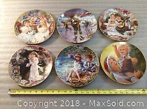 6 Child Theme Collector Plates A
