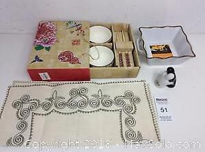 Brand New Chopstick Set Salt And Pepper Shakers And More