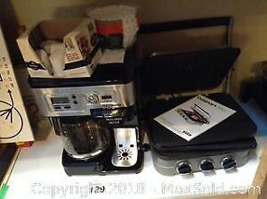 Coffee Maker And Grill A