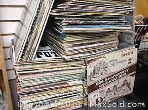 Massive Record Album Collection Lot 100s Of Lps