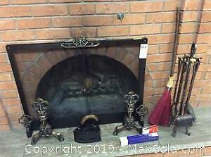 Fireplace Tools And Accessories B