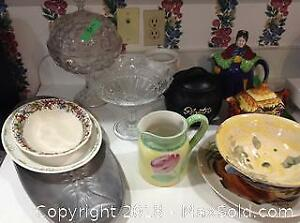 English Pottery and Edward Bierly Collectible Plate A