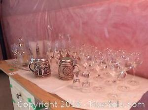 Glassware And Steins- B