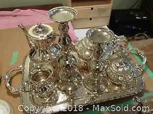 10 Silver Plate Rogers Pieces A