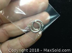Small Sterling Hoops .925 Sterling Silver