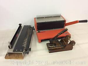 Old Tools and Office Equipment