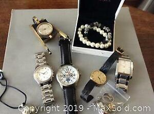 Jewellery, Watches. A