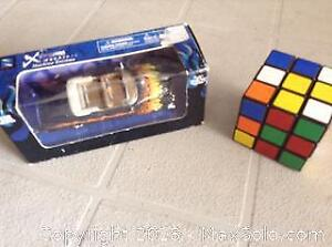 Die Cast and Rubiks Cube
