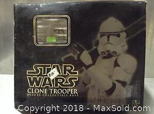 Star Wars Clone Trooper Collectible Bust B