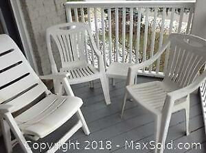 Resin Patio Set C