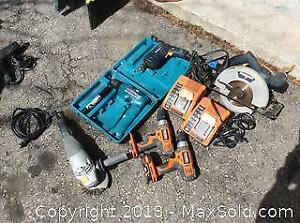 Power Tool Lot A