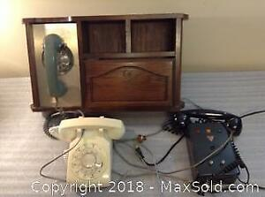 Vintage Telephone Lot A