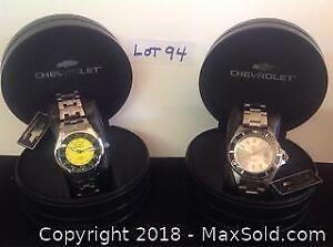Jewellery Lot: Chevrolet Watches
