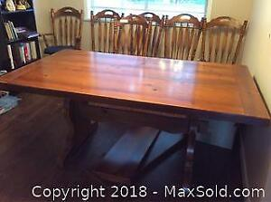 Dining Table With Two Leaves C