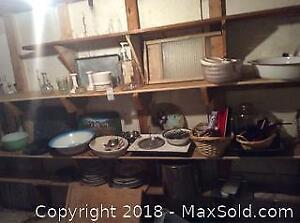 Dishes And Kitchen Wares A